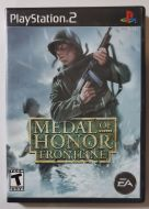 PS2 Game: Medal of Honor Frontline